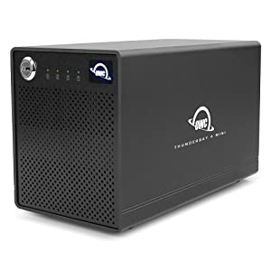 OWC,Other Wold Computing,ThunderBay 4 mini,サンダーベイ 4 ミニ,4ドライブベイ,Thunderbolt 2,サンダーボルト2,外付けhdd ケース,