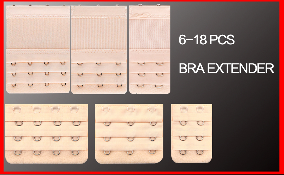 6-18 PCS BRA EXTENDER