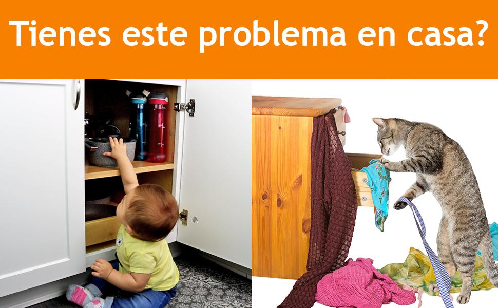 Cerraduras de seguridad para niños