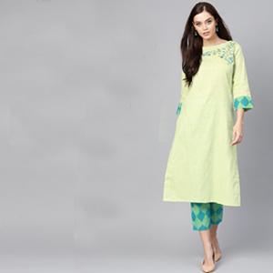 kurti plazo set for women latest design kurti yellow rayon anarkali kurti blue cotton a-line kurti