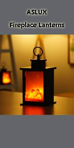 Fireplace Lanterns Light