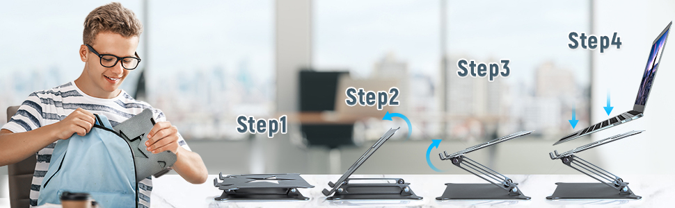 Step 1 -Step 4
