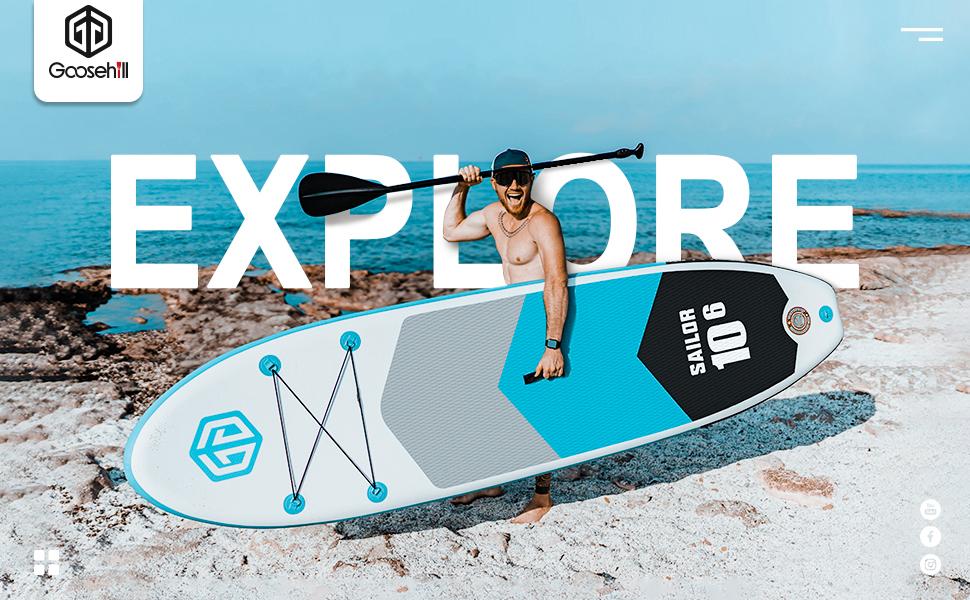 goosehill sailor sup board explore your world