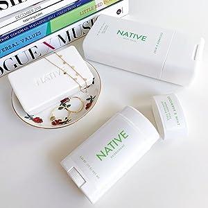 native natural organic body wash