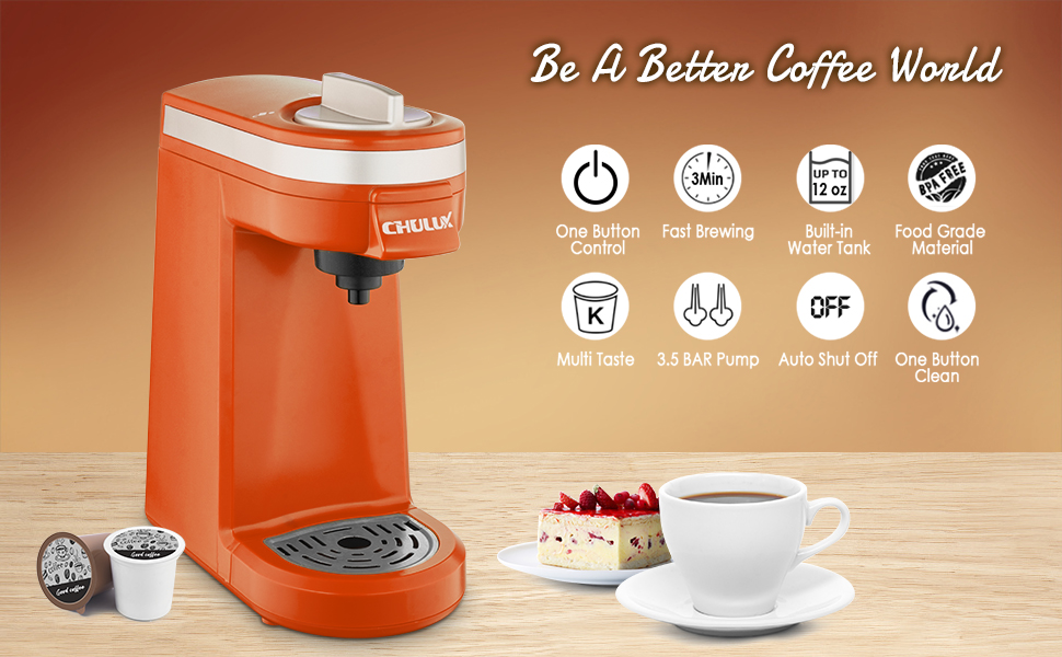 Single Serve Coffee Brewer Machine