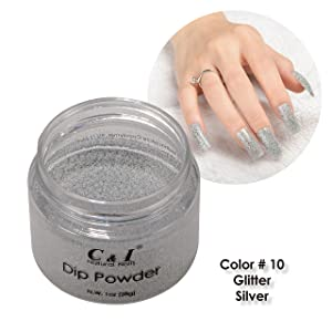 dip powder, Dipping Powder, Pearl Shine, Glitter