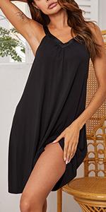 Womens Sleeveless Sleepwear