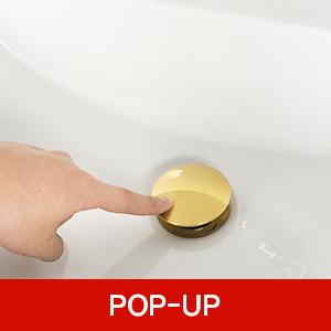sink drain pop up 111g