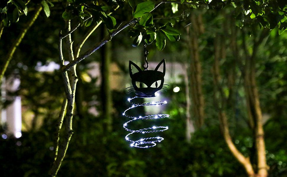 BLACK CAT Waller-Tools Black Cat Outdoor Lampe 17cm 11cm