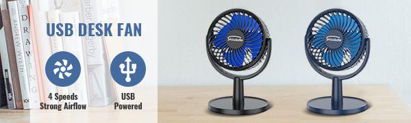Portable small fan