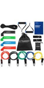 TOMSHOO 5-in-1 Fitness Workout Set - AB Wheel Roller Addominali +2 Maniglie per Flessioni + Corda per Saltare + Pinza… 9223dd4c fe4a 4c6a 9c07 991788851b9d. CR0,0,150,300 PT0 SX150 V1
