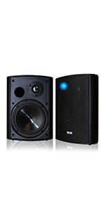 wireless outdoor speakers Black