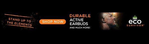 eco survivor earbuds