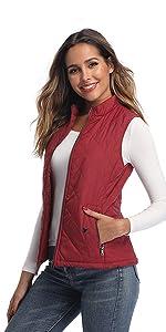 red vest for women