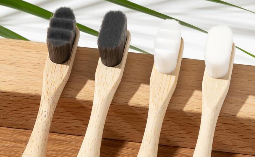 20000 bristle toothbrush bamboo