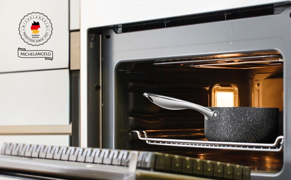 nonstick pan oven safe