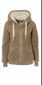 Winter Warm Sherpa Soft Teddy Coat