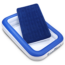 enerplex toddler air mattress inflatable bed for kids travel bed toddler size blow up bed