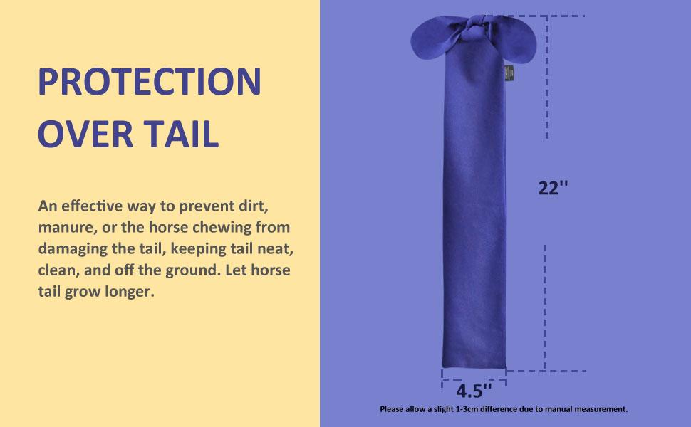 Harrison Howard Horse Tail Bag with Fringe