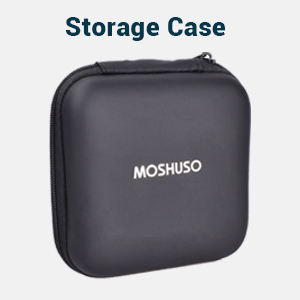 comes with storage case