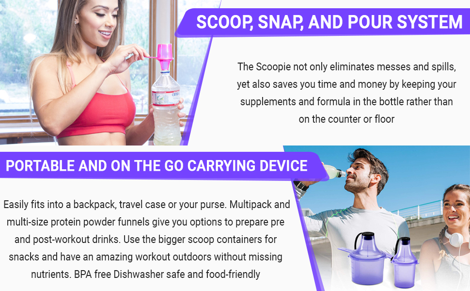 sport drink shaker bottle home gym coffee scooper protein funnel protein scoop powder container work