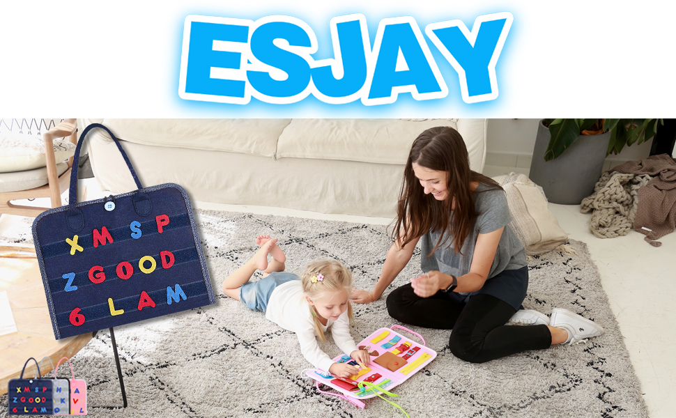 Esjay Busy Board for Toddlers