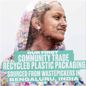recycling, plastic, packaging, community trade