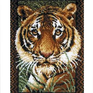 Tiger Latch Hook Rug Kits