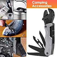 Multitool Adjustable Wrench