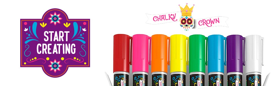 Bold Chalk Markers