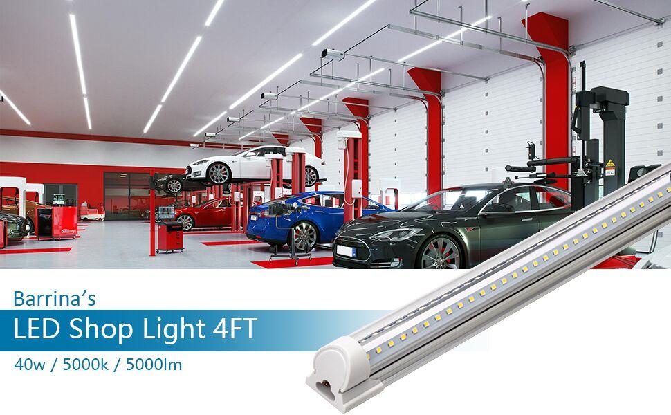 led shop light led tueb light shop light fixture led strip lights led shop lights for garage