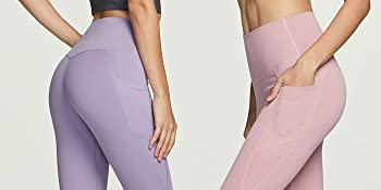 squat proof buttery soft yoga pants side pocket