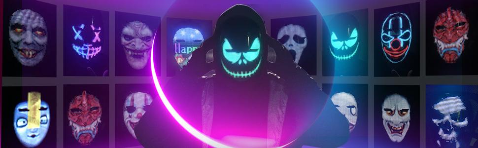 Unique LED mask