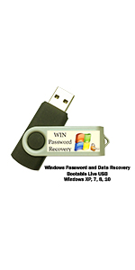 Windows Password Reset and Data Recovery Boot Drive