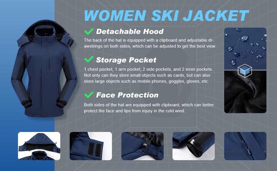 Waterproof Snow Jacket