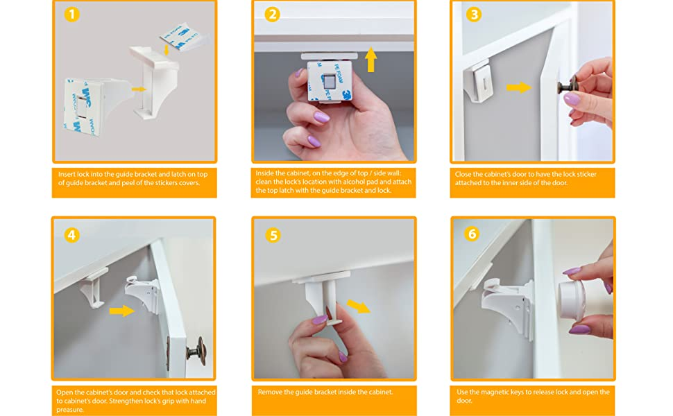 How to install easily and quickly.