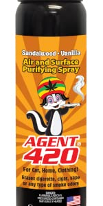 aerosol spray rasta 420 smell weed smoke