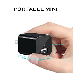 Flashandfocus.com 9264c92b-3ee2-41ae-812f-e589cf35687a.__CR0,0,300,300_PT0_SX300_V1___ 1080P Hidden Camera Charger with 32GB SD Card, Full HD Camera, Mini Nanny Cam with Motion Activation, No WiFi…