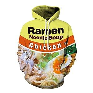 Chicken noodle tile display