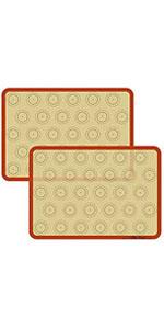 silicone pastry mat non stick