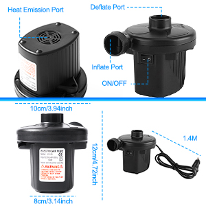 Air Pump For Inflatables