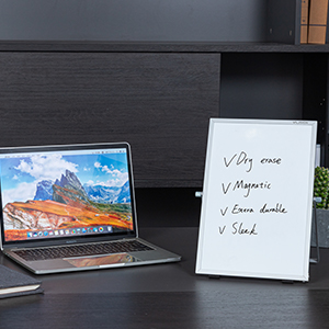 VUSIGN Small Dry Erase White Board