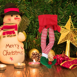 Christmas Elf Leg Decorations