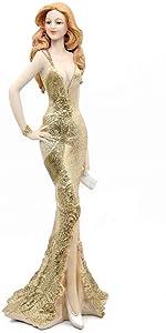 Standing Gold Figurine