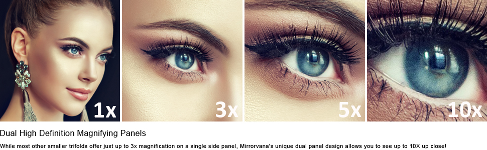 3x 5x 10x magnification