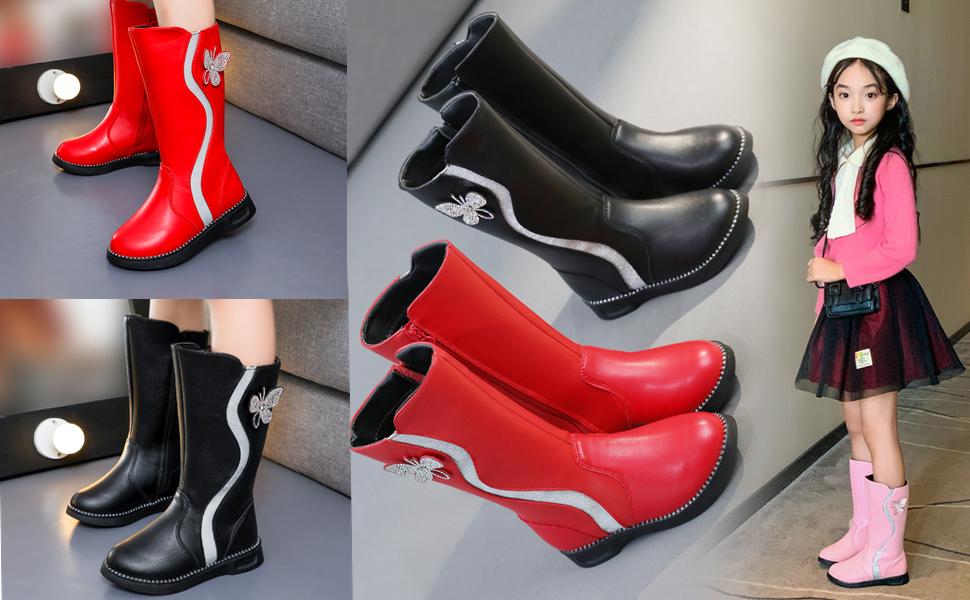 Girls fashion tall boots