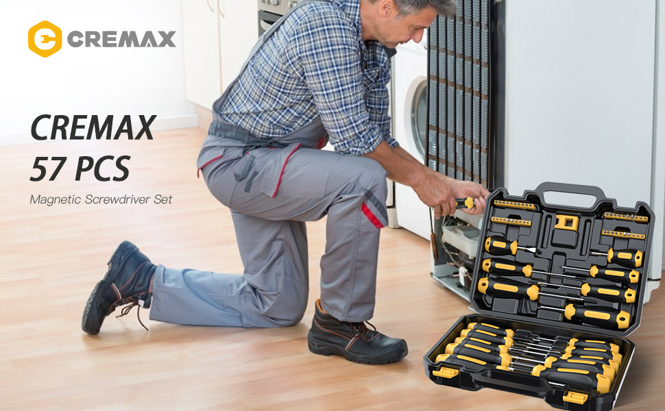 CREMAX screwdriver set