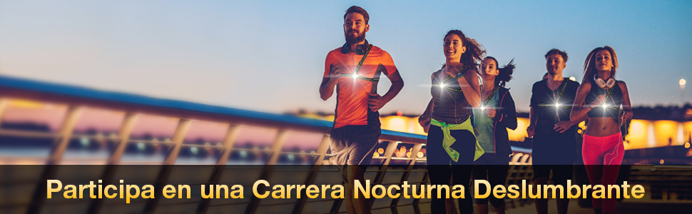 SGODDE Luz para Correr Running, Luz del pecho, Luz Led Frontal ...