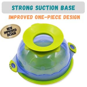 baby toddler suction plate bowl feeding dish kids infants stick slip stay put blw baby led weaning