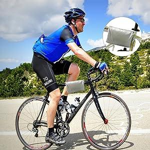Acelane Bike Cover for 2 or 3 Bikes XXL Outdoor Storage Waterproof Bicycle Covers Windproof with Lock Hole Sun UV Dustproof for Mountain Bike Road Bike Electric Bike